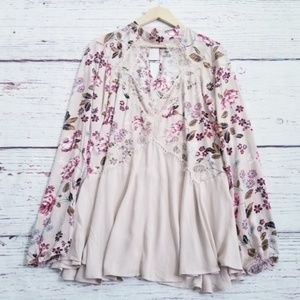 Nordstrom Gypsies & Moondust Floral Peasant Dress